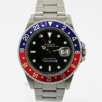 勞力士 GMT-Master Date Pepsi 40 mm Stainless Steel Ref# 16700