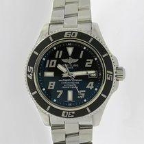 Breitling Superocean 42 Steel 42mm Black Arabic numerals United States of America, New York, New York
