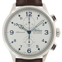 Perseo Steel Automatic White Arabic numerals 44mm new