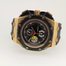 Audemars Piguet Royal Oak Offshore Grand Prix Açık kırmızı altın 44mm Siyah Sayılar yok