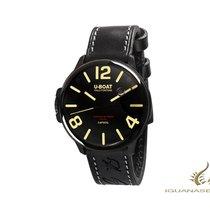 U-Boat Acero Cuarzo Negro Arábigos 45mm nuevo