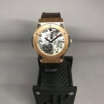 Hublot Rose gold Manual winding White No numerals 45mm new Classic Fusion Ultra-Thin