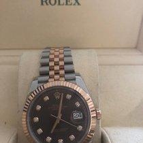 Rolex Datejust II Goud/Staal 41mm Bruin Geen cijfers Nederland, Vinkeveen