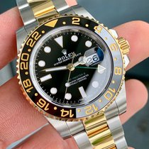Rolex 116713 Gold/Steel GMT-Master II 40mm pre-owned United States of America, Texas, Houston