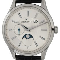 Zenith Captain Moonphase Steel 40mm Silver United States of America, Texas, Austin