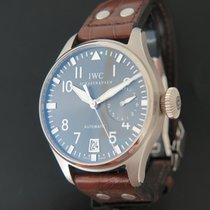 IWC White gold Automatic Grey 46.2mm pre-owned Big Pilot