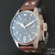 IWC Big Pilot Bjelo zlato 46.2mm Siv