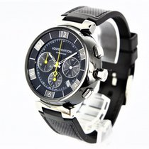 Louis Vuitton Steel 41.5mm Automatic Q112J pre-owned