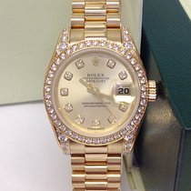 Rolex Lady-Datejust Yellow gold 26mm Silver No numerals United Kingdom, Wilmslow
