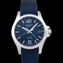 Longines Conquest Steel 41.00mm Blue United States of America, California, San Mateo