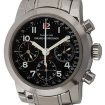 Girard Perregaux Ferrari pre-owned 40mm Black Chronograph