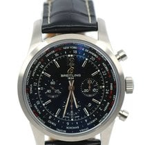 Breitling Transocean Unitime Pilot new Automatic Chronograph Watch with original box and original papers AB0510U6/BC26/441X