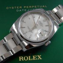 Rolex Argent Remontage automatique Argent 36mm nouveau Datejust