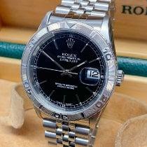 Rolex Datejust Turn-O-Graph Acél 36mm Fekete Számjegyek nélkül