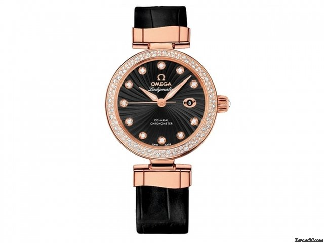 Omega De Ville Ladymatic 18k Rose Gold Ladies watch 425.68.34.20.51.001