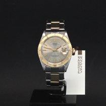 Rolex Datejust Turn-O-Graph Gold/Stahl 36mm Grau Keine Ziffern
