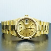 Rolex Day-Date 36 pre-owned 36mm Champagne Date Yellow gold