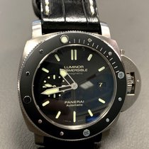 Panerai PAM 00389 Titanium 2016 Luminor Submersible 1950 3 Days Automatic 47mm pre-owned United States of America, Florida, hollywood