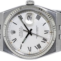 Rolex Datejust Oysterquartz Goud/Staal 36,00mm Wit Romeins