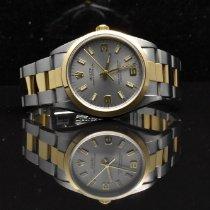 Rolex Oyster Perpetual 34 14203M Meget god Guld/Stål 34mm Automatisk