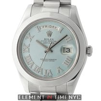 Rolex 218206 Platinum Day-Date II 41mm pre-owned United States of America, New York, New York