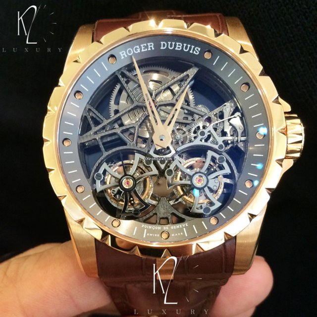 3e491903f16 Roger dubuis excalibur skeleton double flying tourbillon in for sale from a  trusted seller on chrono