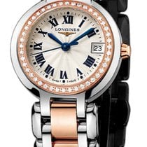 Longines PrimaLuna Gold/Steel 26.5mm Silver United States of America, New York, Airmont