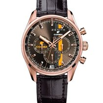 Zenith El Primero Chronomaster Rose gold 42mm Brown United States of America, New York, Brooklyn