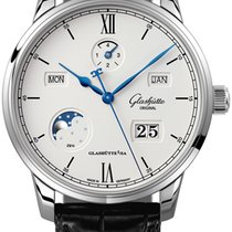 Glashütte Original Senator Excellence Steel 42mm Silver
