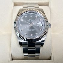 Rolex Datejust II 41mm Rhodium Diamond Dial LC-EU