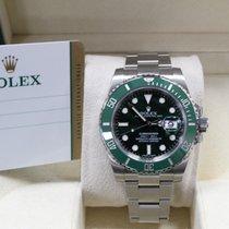 Rolex Submariner 116610 Hulk Green Ceramic Stainless Steel B&P