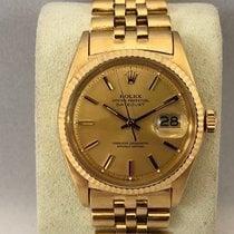 Rolex Gult guld 36mm Automatisk 1601 brugt
