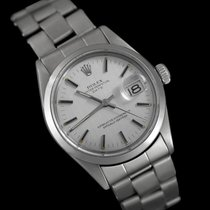 Rolex Silver Automatic Silver 34mm pre-owned Datejust