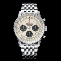 Breitling AB0121211G1A1 Steel 2019 Navitimer 1 B01 Chronograph 43 43mm new