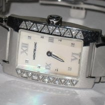 Montblanc Profile pre-owned 23mm Mother of pearl Silver