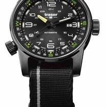 Traser 46mm Automatic new Black