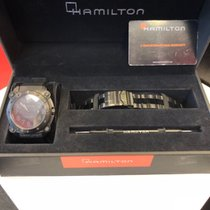 Hamilton Khaki Navy BeLOWZERO pre-owned 44mmmm Steel