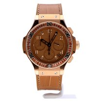 Hublot Big Bang Tutti Frutti Rose gold 41mm Brown