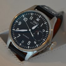 IWC Big Pilot Steel 46mm Black Arabic numerals
