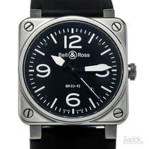 Bell & Ross 42mm Automatic pre-owned BR 03-92 Steel Black