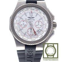 Breitling Bentley GMT Titanio 45mm Plata Árabes