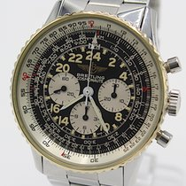 Breitling Navitimer Cosmonaute Gold/Steel 41mm Black