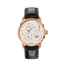 Glashütte Original Rose gold Manual winding Silver 40mm new PanoReserve