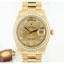 Rolex 118348 Yellow gold 2014 Day-Date 36 36mm pre-owned United States of America, Maryland, baltimore