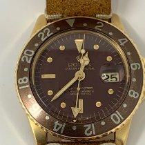 Rolex 1675 Yellow gold 1971 GMT-Master 40mm pre-owned