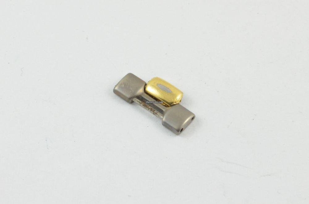 LONGINES CONQUEST ERSATZGLIED GLIED LINK 16MM TITAN//GOLD RAR