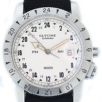 Glycine Steel 42mm Automatic 3904 pre-owned