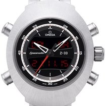 Omega Speedmaster Spacemaster Z-33 Titane 43mm Noir