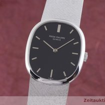 Patek Philippe Golden Ellipse White gold 27mm Black