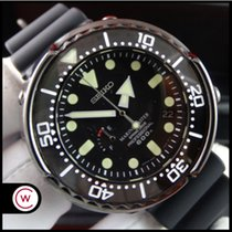 Seiko Marinemaster Titanium 49,6mm Black No numerals